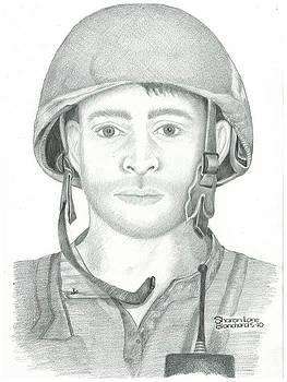 U.S. Marine Sgt. Afghanistan by Sharon Blanchard
