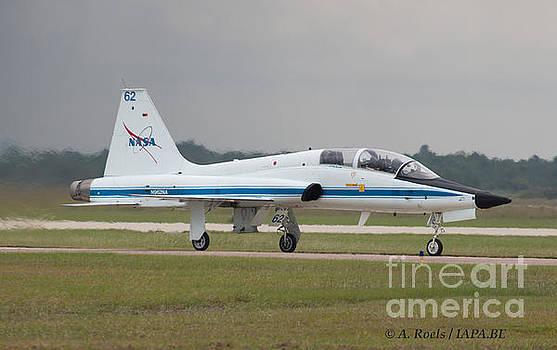 US NASA  F-5 at Houston AFB by Antoine Roels
