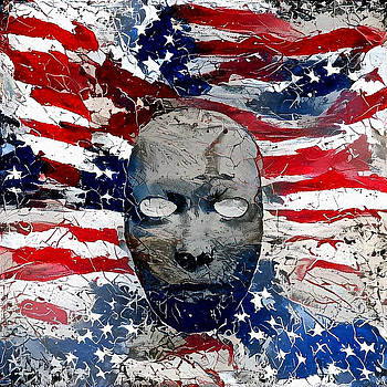 US national colors by Bruce Rolff