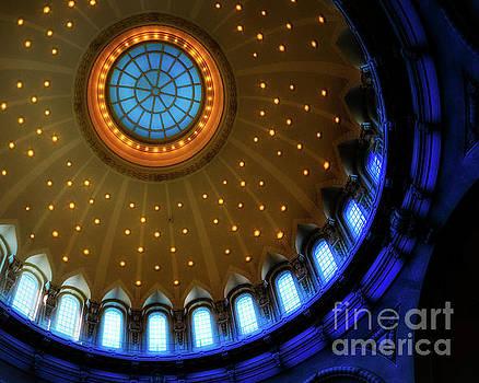 U.S. Naval Academy Dome Interior by Jerry Fornarotto