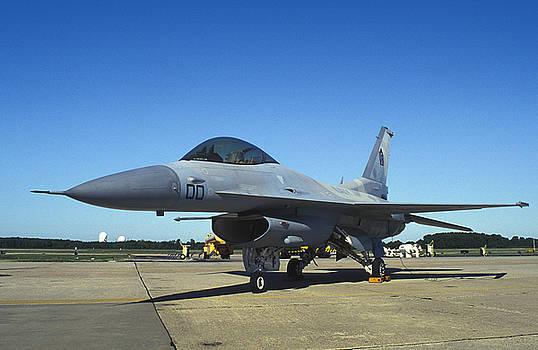US Navy Aggressor F-16N Viper by John Clark