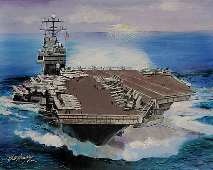 Us Navy-Always Ready by Bill Dunkley