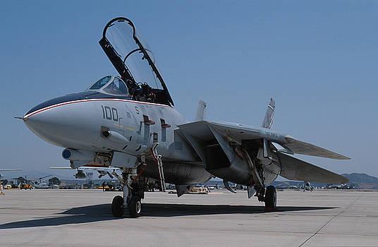 US Navy Grumman F-14 Tomcat by John Clark