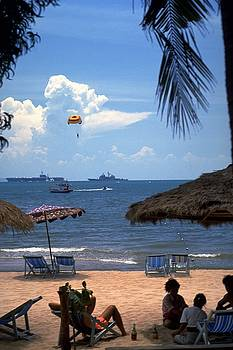 US Navy off Pattaya by Travel Pics