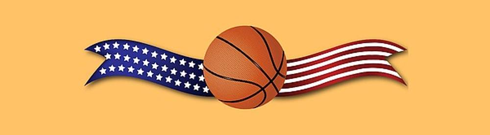 USA Basketball by Ericamaxine Price