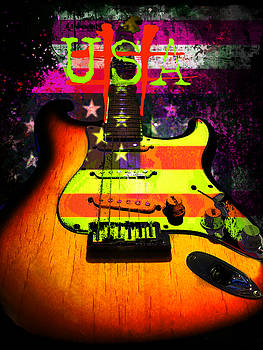 USA Strat Guitar Music by Guitar Wacky
