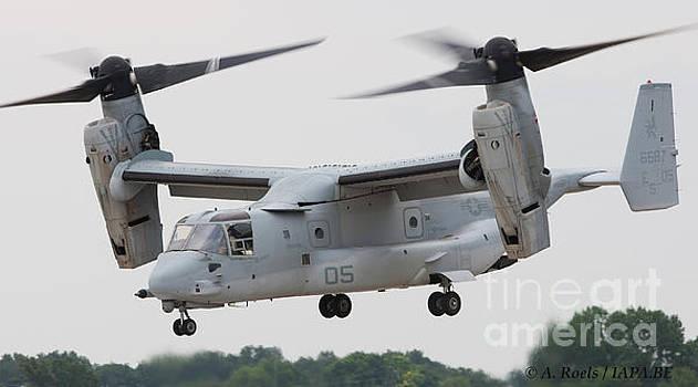 USAF Boeing V-22 Osprey by Antoine Roels