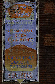 Used Guitars by Kelly E Schultz