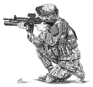 U.S.Marine Training by Murphy Elliott