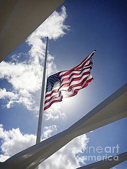 USS Arizona Memorial by Charles Dobbs