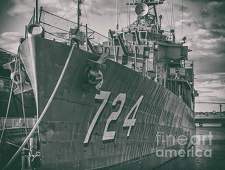 USS Laffey DD724 by Dale Powell