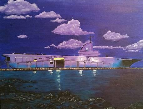 USS Lexington by Diana Garcia