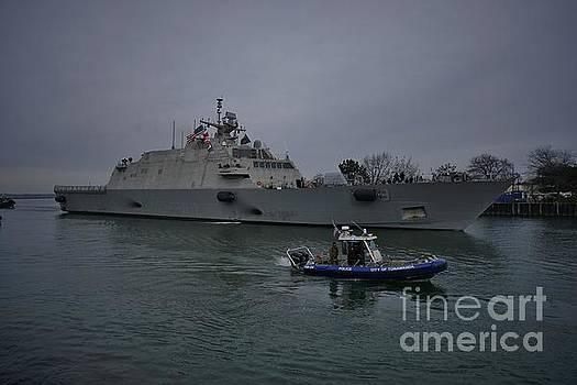 USS Little Rock In Buffalo, New York by Tony Lee