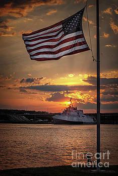 USS Manchester by Scott Thorp