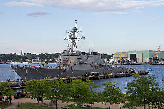USS Ramage in New London by Kirkodd Photography Of New England
