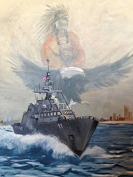Uss Sioux City by Jane Harris
