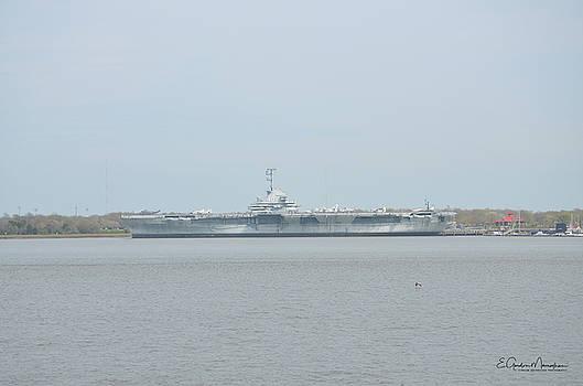 USS Yorktown by Gordon Mooneyhan