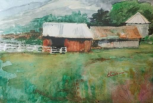 Utah Barns by Larry Christensen