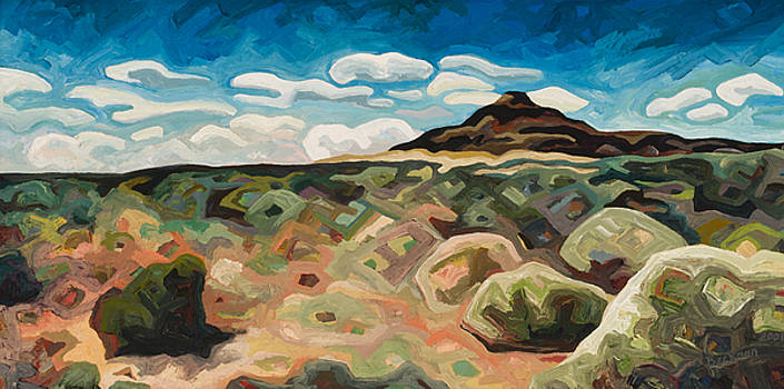 Utah Hill #6 by Dale Beckman