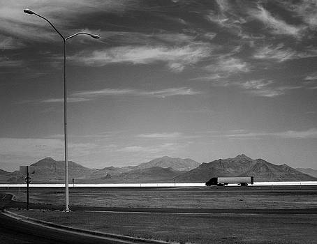 Utah Salt Flats by Art Shimamura