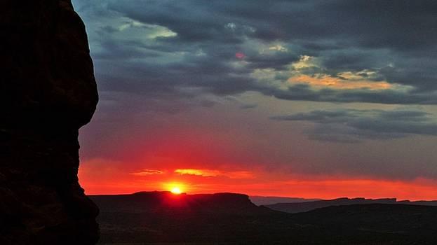 Utah sunset by Barkley Simpson