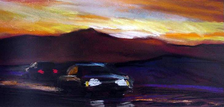 Utah Sunset by George Grace