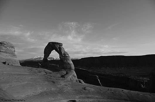 Delicate Arch by James Petersen