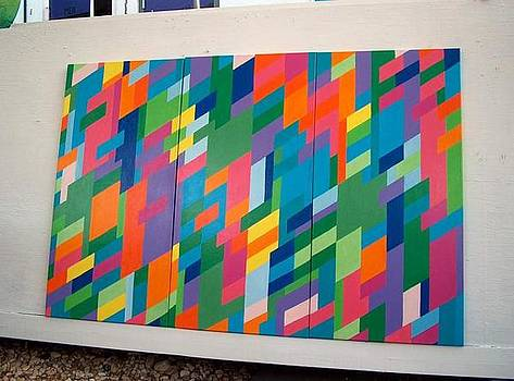 Utitled Triptych by Kathleen  Henner