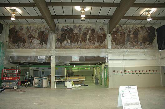 UTTC - Buffalo Mural by Wayne Pruse
