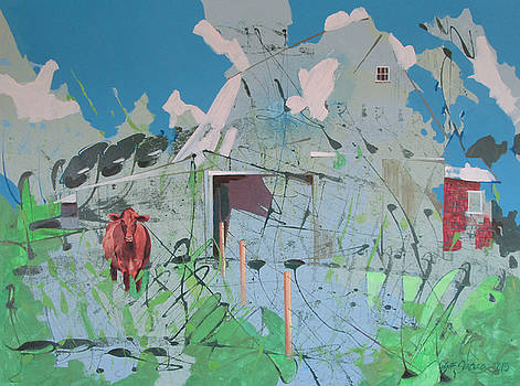 Vacant Vaca Barn by Jeff Seaberg