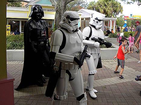 Vader on patrol  by Chris Mercer
