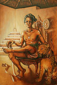 Vaduthala Nair - An exponent in Kalari by Anup Roy