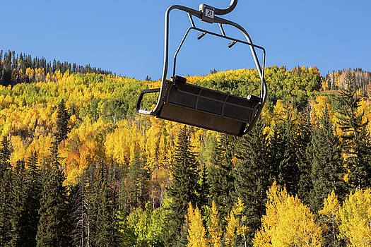 Vail in the Fall by John Daly