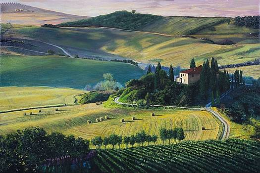 Val d'Orcia by Richard Barone