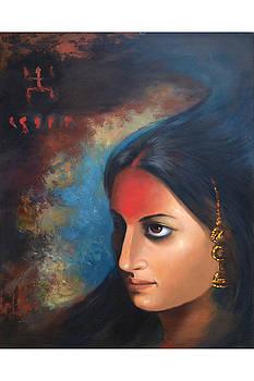 Valediction in Vermilion by Shankhadeep Bhattacharya