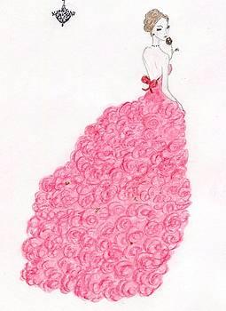 Valentine Rose Gown by Christine Corretti