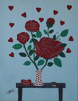 Valentine's Roses by Catherine Velardo