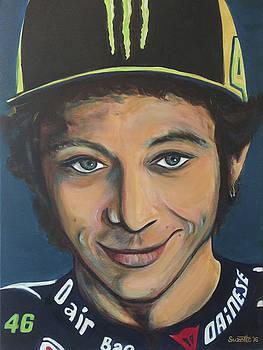 Valentino Rossi by Suzette Castro
