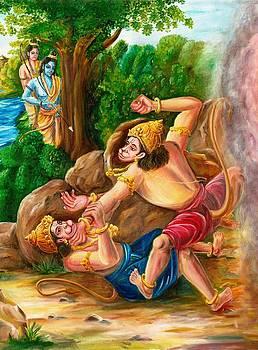 'Vali Sugriva Yudham' by Murali Surya