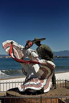 Reimar Gaertner - Vallarta Spanish Dancers Sculpture on the Malecon Puerto Vallart