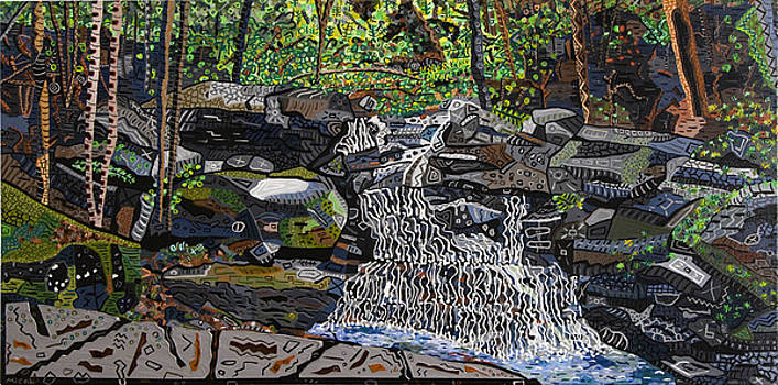 Valle Crucis 2 -  Waterfalls near Conference Center by Micah Mullen