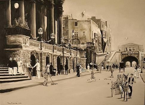 Valletta Entrance 1935 by Tony Calleja