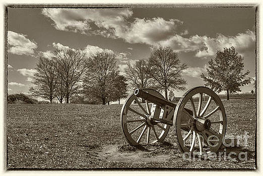 Valley Forge military canon by David Zanzinger