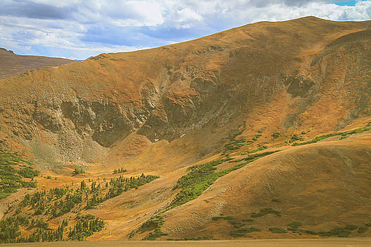 Valley From Trail Ridge Road by Dan Sproul