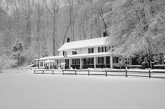 Valley Green in the Winter - Philadelphia by Bill Cannon