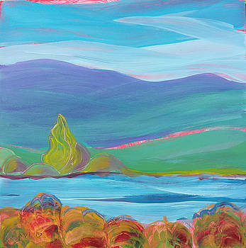 Valley Morning 26 by Pam Van Londen
