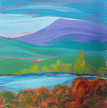 Valley Morning 27 by Pam Van Londen
