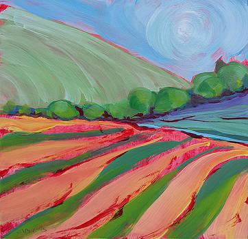 Valley Morning 32 by Pam Van Londen
