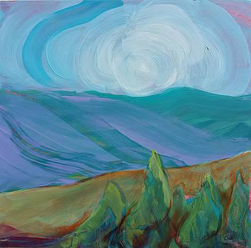 Valley Morning 35 by Pam Van Londen