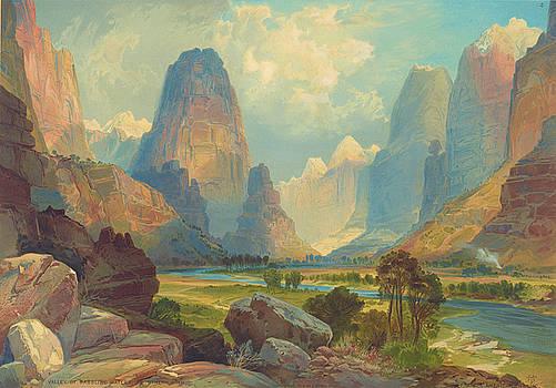 Ricky Barnard - Valley of Babbling Waters, Southern Utah 1876